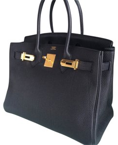 Hermes birkin 30cm Satchel in Black