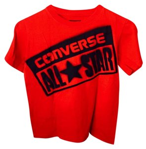 Converse All Star T Shirt Red