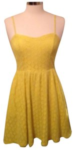 Target short dress Yellow on Tradesy