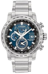 Citizen Citizen Eco-drive World Time A-t Mens Watch At9070-51l