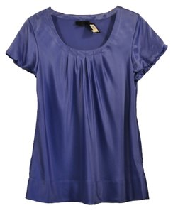Banana Republic 100% Silk Top Lavender