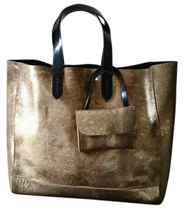 Ralph Lauren Collection Dior Valentino Chloe Tote in Gold Bronze