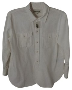 Madewell Button Down Shirt White