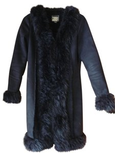 Guess Faux Fur Faux Fur Jacket Fur Coat