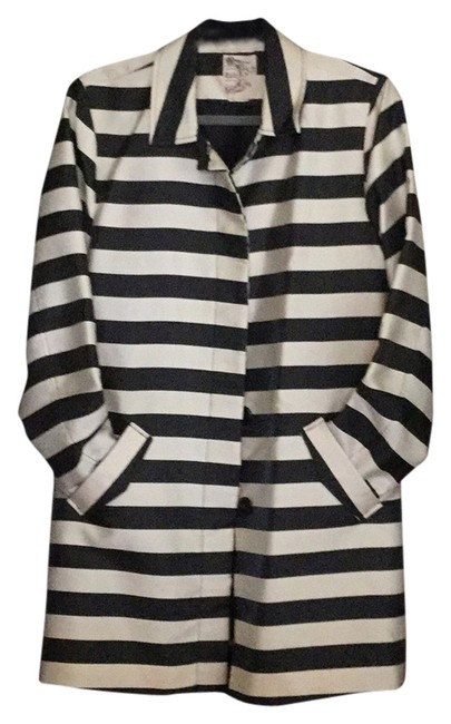 Item - Black/Cream Never Worn Coat Size 12 (L)