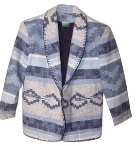Coldwater Creek Blue gray black Jacket