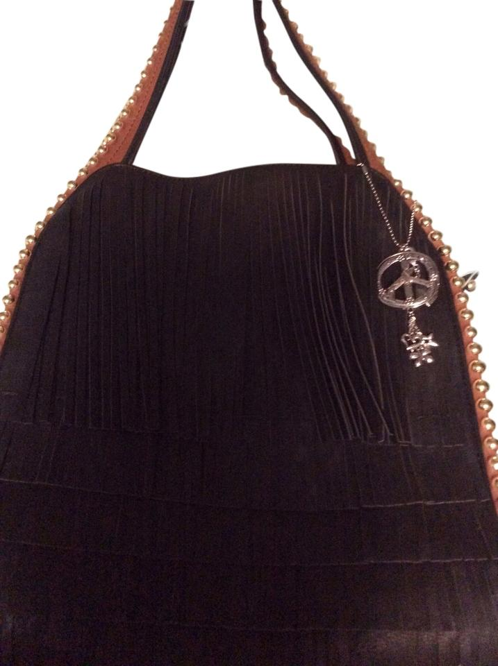 Buddha Handbag Tote In Black