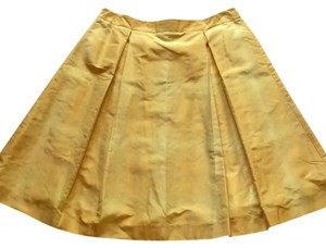 Banana Republic Skirt Dark Yellow
