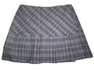 Tracy Evans Size 5 Plaid Ruffled Mini Skirt MULTI COLOR