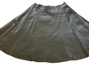 Banana Republic Skirt Silver/Grey