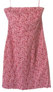 Express short dress Pink Red Hints of Green on Tradesy