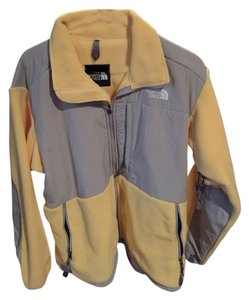 The North Face Yellow and Gray Jacket