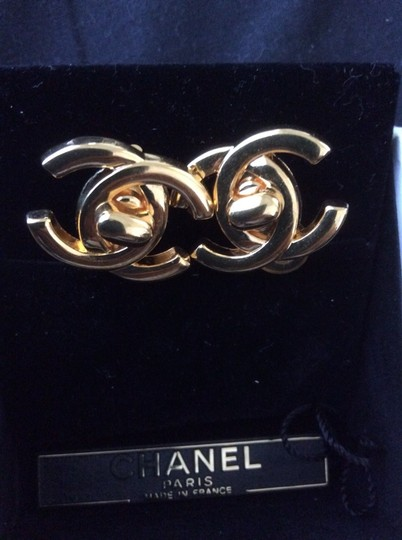 Chanel 24 K Gold Plated Non Tarnish