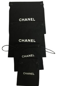 Chanel Lot Of 6x Chanel Pouch/Storage Bags