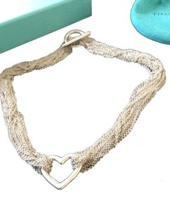 Tiffany & Co. 92.5 Silver Strands Choker