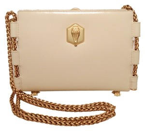 Barry Kieselstein-Cord Leather Box Calf Shoulder Bag