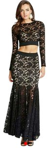 Guess By Marciano Black Lace Dress