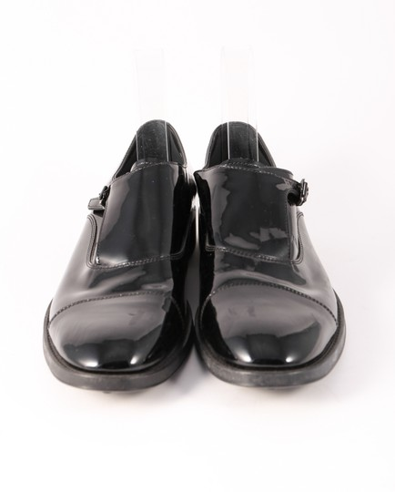 Tod's Patent Leather Loafers Buckle Black Formal Image 1