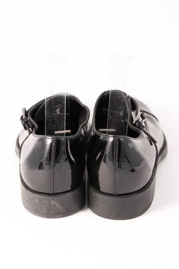Tod's Patent Leather Loafers Buckle Black Formal Image 2