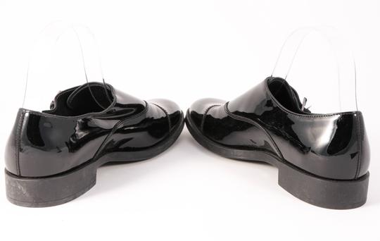 Tod's Patent Leather Loafers Buckle Black Formal Image 3