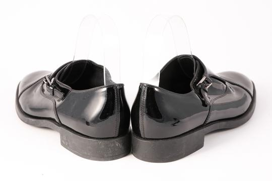 Tod's Patent Leather Loafers Buckle Black Formal Image 4