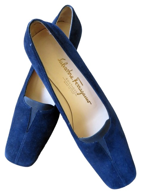 Item - Blue Loafers Pumps Size US 6.5 Narrow (Aa, N)