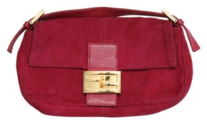 Fendi Baguette Fuschia Clutch