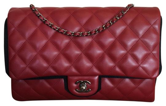 Chanel Leather Quilted Chain Shoulder Bag Image 0