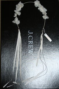 Jennifer Behr For J.Crew Forget-me-not Circlet Ivory