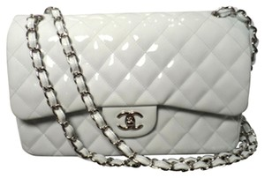 Chanel Patent Leather Purse Shoulder Bag