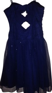 Hailey Logan Adrianna Papell Prom Strapless Spaghetti Strap Dress
