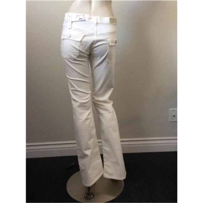 Lacoste Boot Cut Pants White Image 2