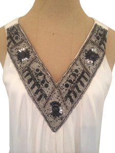 Alice + Olivia Beaded Embellished Silk Dress