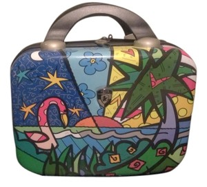 Romero Britto Make-up Beauty Case Fun Multicolor Travel Bag