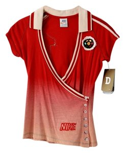 Nike Diski South Africa Soccer Top Red