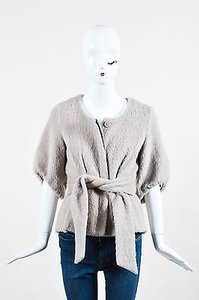 Loeffler Randall Wool Gray Jacket