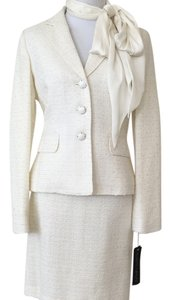 Albert Nipon Tweet Skirt and Jacket Set