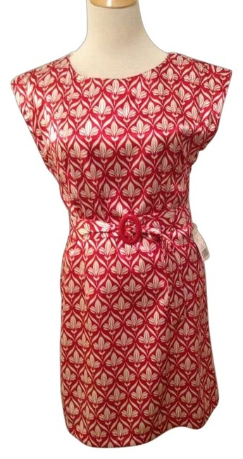 Preload https://img-static.tradesy.com/item/118851/forever-21-red-and-cream-sleeve-woven-tunic-size-8-m-0-0-650-650.jpg