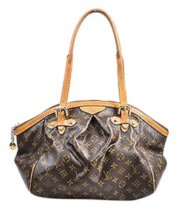 Louis Vuitton Tan Monogram Coated Canvas Tivoli Gm Shoulder Bag