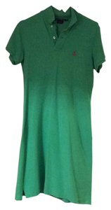 Ralph Lauren short dress Green on Tradesy
