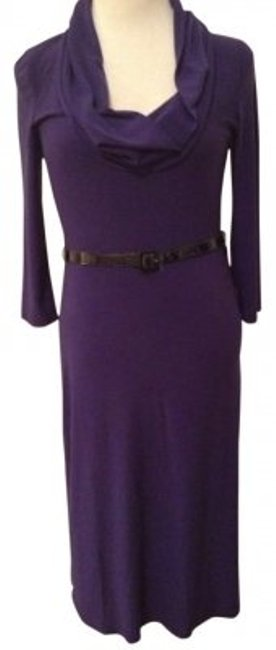 Preload https://img-static.tradesy.com/item/118857/essentials-by-abs-royal-purple-long-sleeve-cowl-neck-knit-knee-length-workoffice-dress-size-4-s-0-0-650-650.jpg