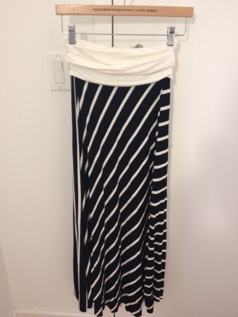 Tiffany & Co. Skirt Black/navy and White