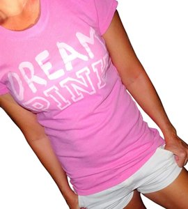 Victoria's Secret T Shirt Pink White Script