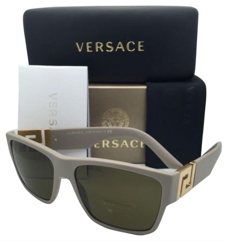 91c35d4b2d Versace New VERSACE Sunglasses VE 4296 5146 73 59-16 Sand Beige   Gold ...