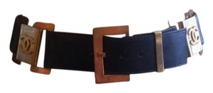 Chanel Authentic Chanel Leather Belt