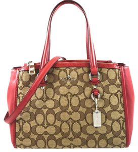 Coach Edde Satchel Handbag 36905 Shoulder Bag