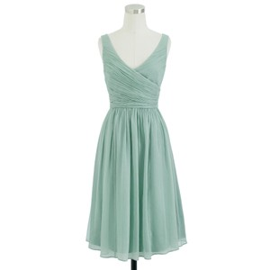 J.Crew Dusty Shale Heidi Dress