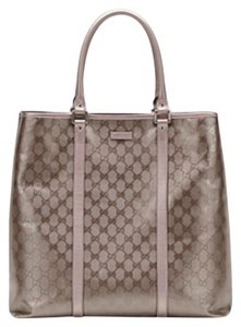 Gucci Tote Monogram Large Shoulder Bag