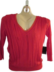 Dolce Cabo 3/4 Sleeves V-neck Sweater