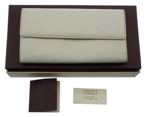 Louis Vuitton Epi White Portefeuille Sarah Long Wallet With Box - 765